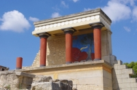 Get a rental car to discover Knossos palace in Heraklion, Crete