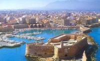 Get a rental car to discover the Fortress of Koules in Heraklion Crete