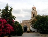 Get a rental car to discover Monastery of Toplou in Palekastro Crete
