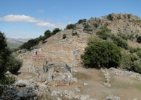 Get a rental car to discover the archaeological site of Lato Crete