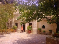 Get a rental car to discover Bali monastery in Rethymnon, Crete