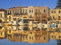 Get a rental car to discover Rethymnon City in Crete