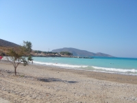 Get a rental car to discover beach of Tholos Lasithi, Crete